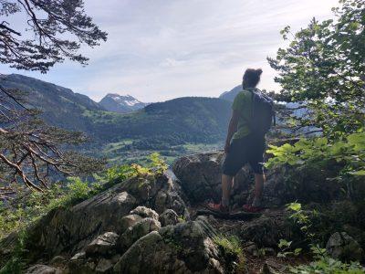 Randonnée vers le Mont-Orchez