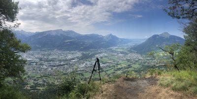 Vue du Mont Orchez
