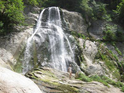 Cascade du Dard à Mont-Saxonnex