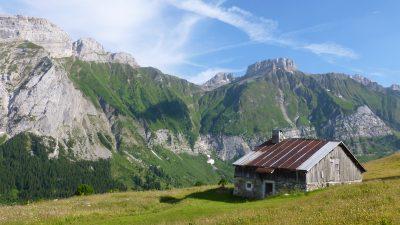 Col de Cenise à Mont-Saxonnex