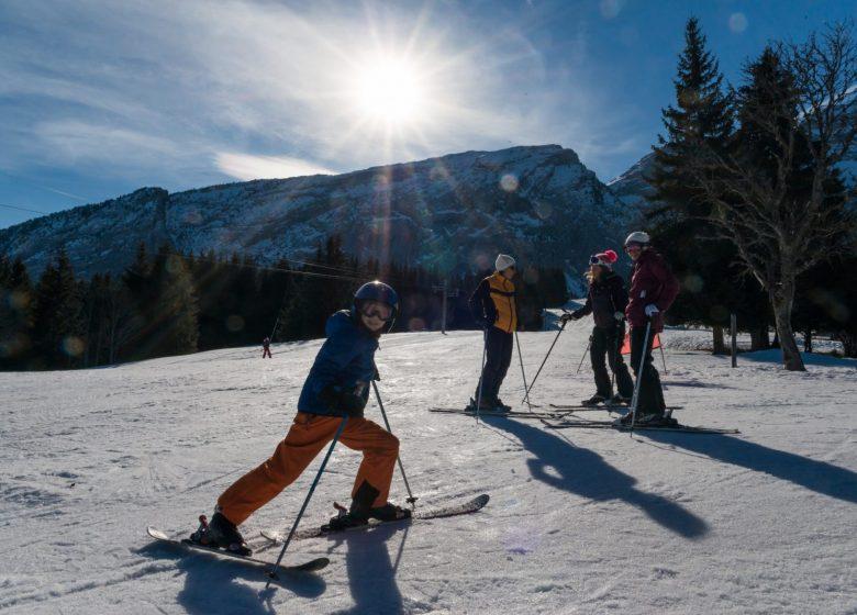 Ski au Mont-Saxonnex