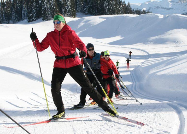 Ski nordique Agy